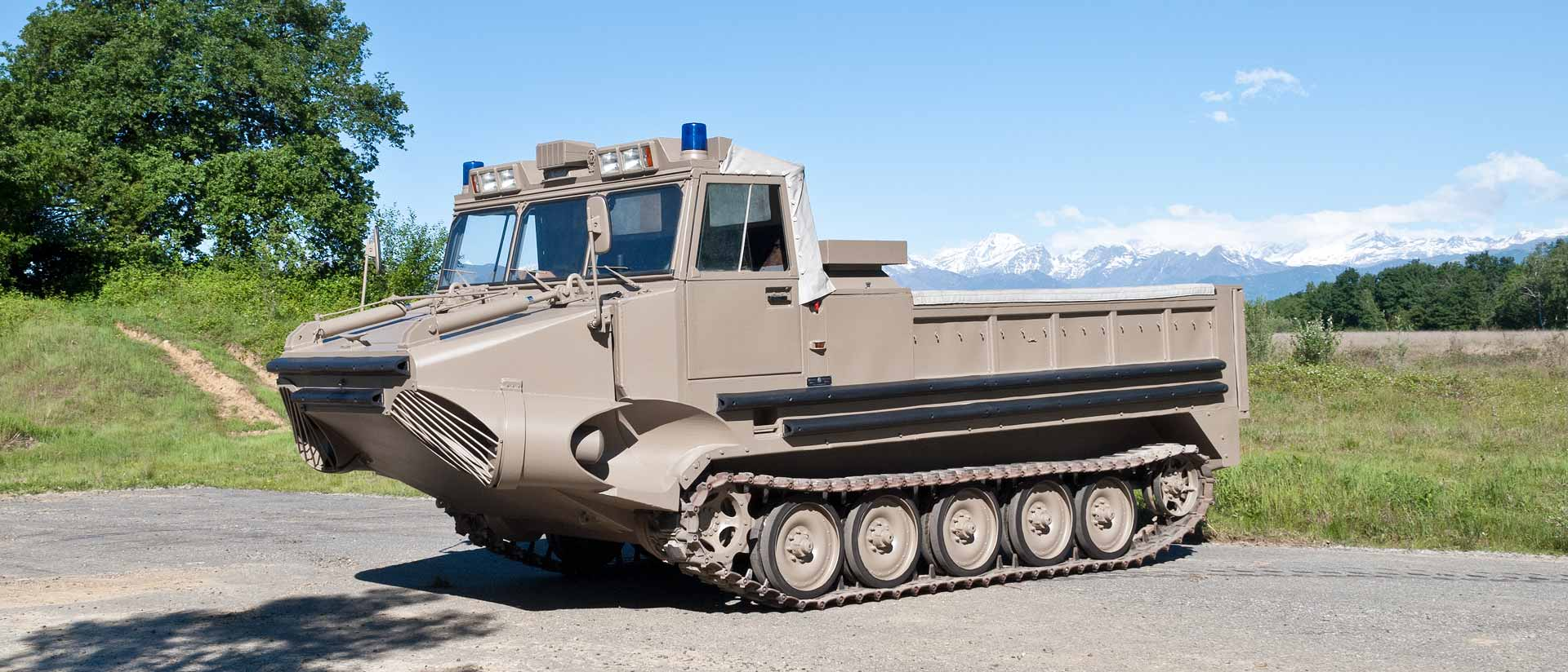 ARK amphibious vehicle – ARIS SpA